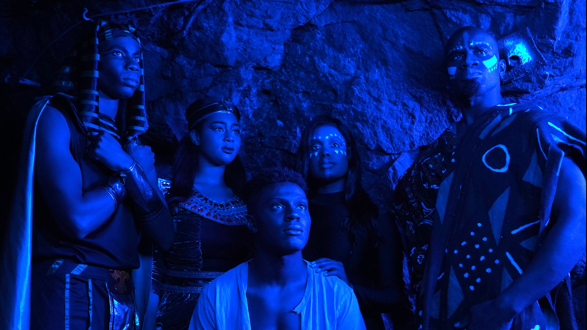 The Blue Cave Film Still