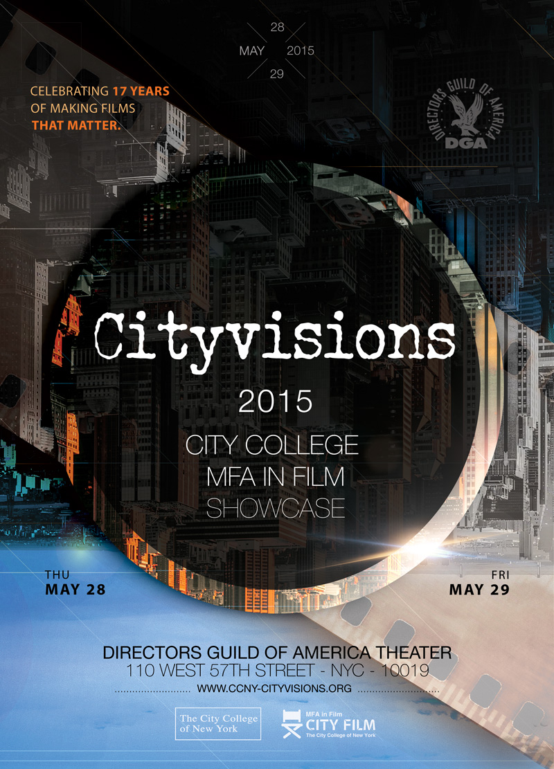 2015 Cityvisions poster