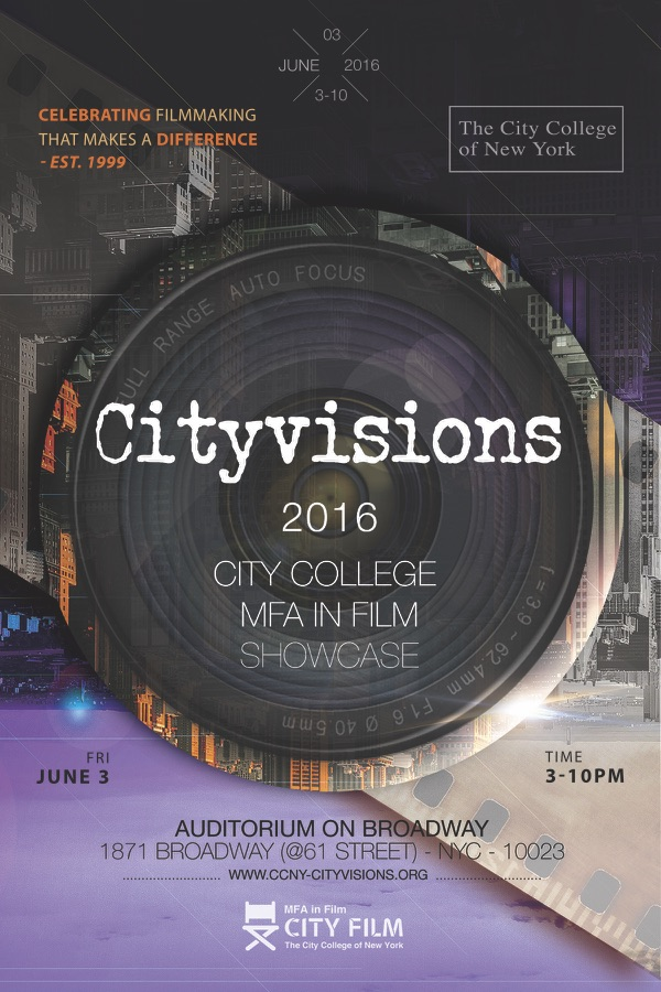 2016 Cityvisions poster